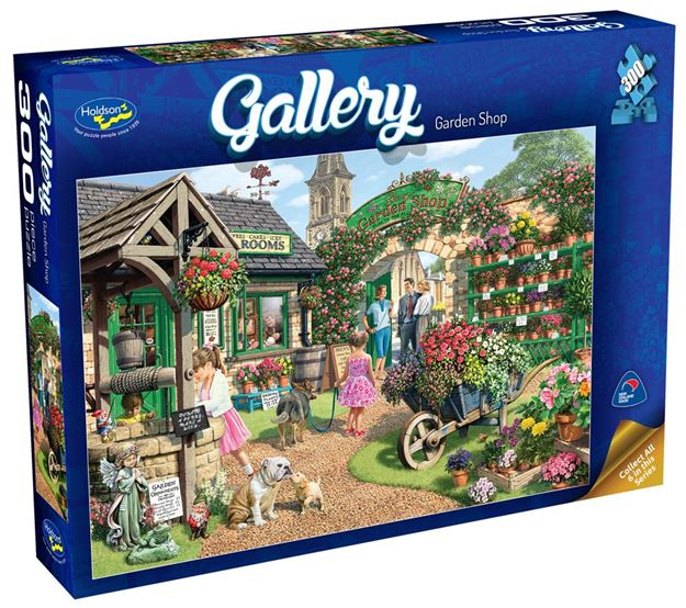 Picture of Holdson Puzzle - Gallery 3 300pc XL (Garden Shop)