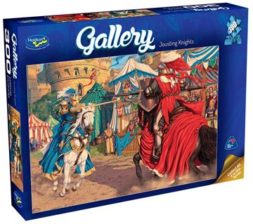 Picture of Holdson Puzzle - Gallery 3 300pc XL (Jousting Knights)