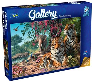 Picture of Holdson Puzzle - Gallery 3 300pc XL (Tiger Sanctuary)