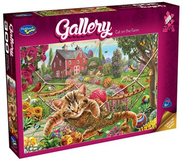 Picture of Holdson Puzzle - Gallery 4 300pc XL (Cat On The Farm)