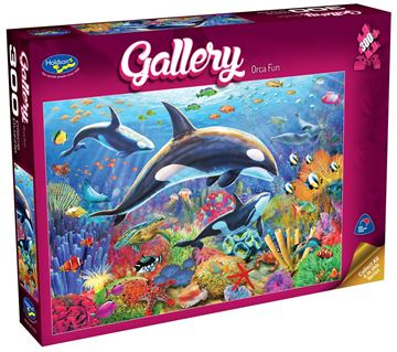 Picture of Holdson Puzzle - Gallery 4 300pc XL (Orca Fun)