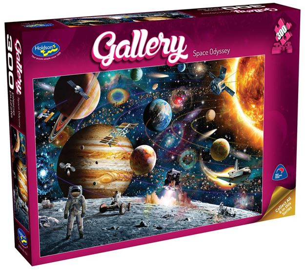 Picture of Holdson Puzzle - Gallery 4 300pc XL (Space Odyessy)