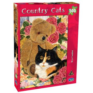 Picture of Holdson Puzzle - Country Cats 500pc (Bear Comfort)