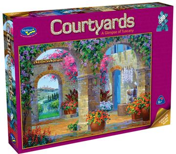 Picture of Holdson Puzzle - Courtyards 500pc (A Glimpse of Tuscany)