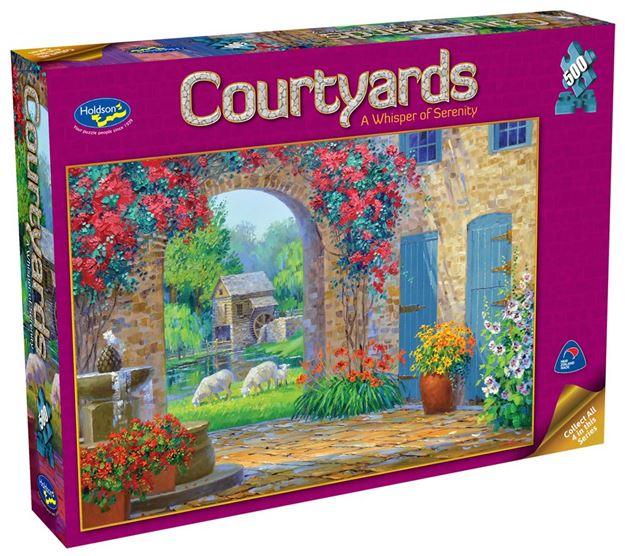 Picture of Holdson Puzzle - Courtyards 500pc (A Whisper of Serenity)