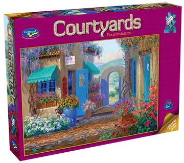 Picture of Holdson Puzzle - Courtyards 500pc (Floral Invitation)