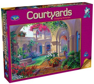 Picture of Holdson Puzzle - Courtyards 500pc (Intriguing Archway)
