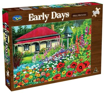 Picture of Holdson Puzzle - Early Days 500pc (Many Memories)