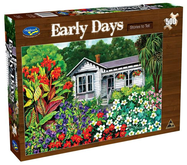 Picture of Holdson Puzzle - Early Days 500pc (Stories To Tell)