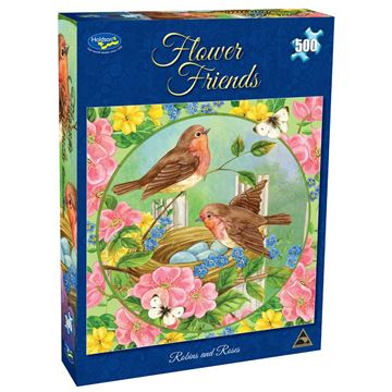 Picture of Holdson Puzzle - Flower Friends 500pc (Robyns & Roses)