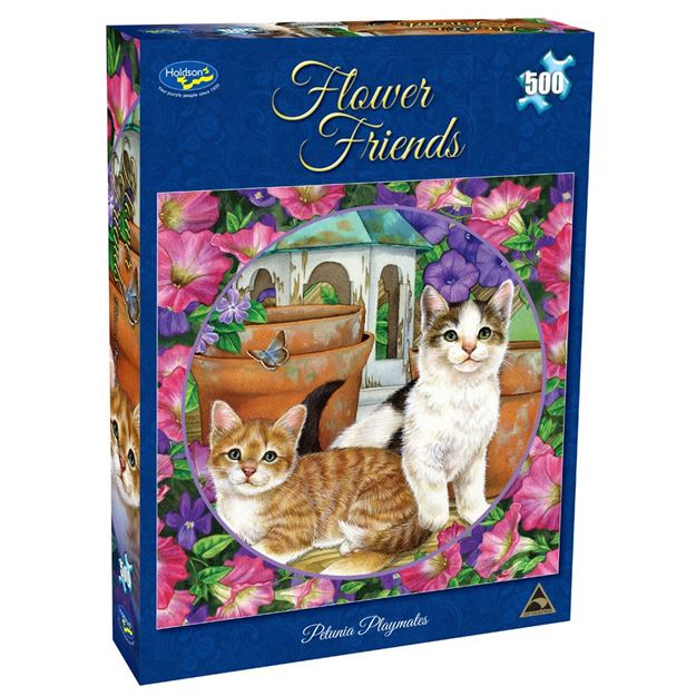 Picture of Holdson Puzzle - Flower Friends 500pc (Petunia Pals)