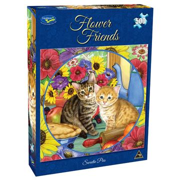 Picture of Holdson Puzzle - Flower Friends 500pc (Sweetie Pies)