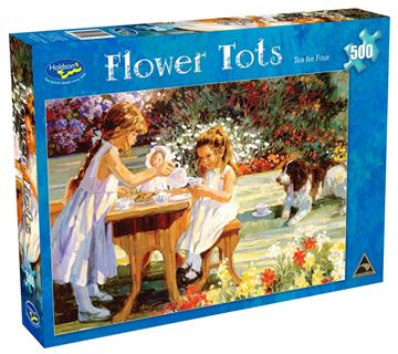 Picture of Holdson Puzzle - Flower Tots 500pc (Tea For Four)