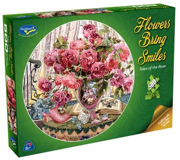 Picture of Holdson Puzzle - Flowers Bring Smiles 500pc (Tales of the Rose)