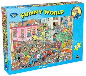 Picture of Holdson Puzzle - Funny World 500pc (Carnival)