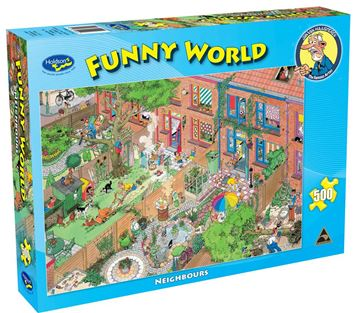 Picture of Holdson Puzzle - Funny World 500pc (Neighbours)