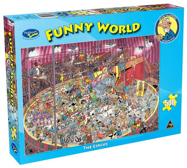 Picture of Holdson Puzzle - Funny World 500pc (The Circus)