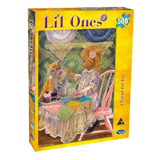 Picture of Holdson Puzzle - L'il Ones 2 500pc (A Friend For Tea)