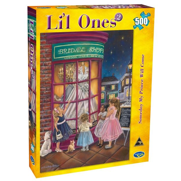 Picture of Holdson Puzzle - L'il Ones 2 500pc (Someday My Prince Will Come)