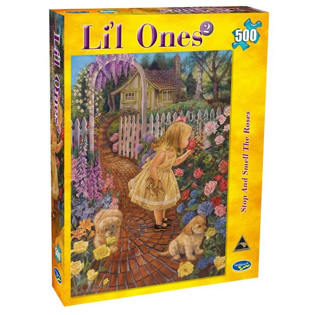 Picture of Holdson Puzzle - L'il Ones 2 500pc (Stop & Smell The Roses)