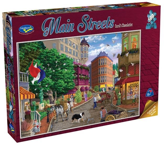 Picture of Holdson Puzzle - Main Streets 500pc (Carol's Chocolatier)