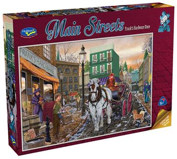 Picture of Holdson Puzzle - Main Streets 500pc (Franks Hardware Store)