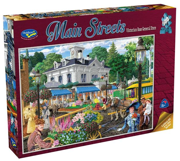 Picture of Holdson Puzzle - Main Streets 500pc (Victorian Rose General Store)