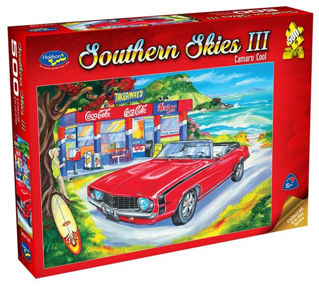 Picture of Holdson Puzzle - Southern Skies 3 500pc (Camaro Cool)