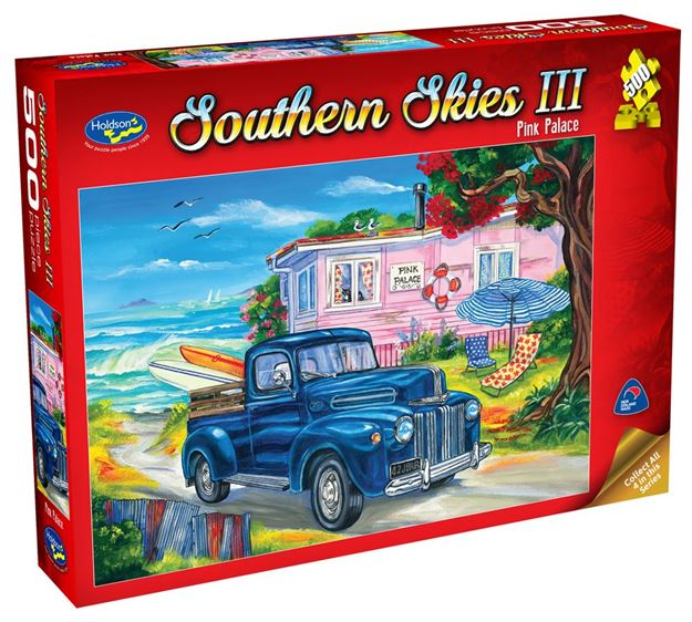 Picture of Holdson Puzzle - Southern Skies 3 500pc (Pink Palace)