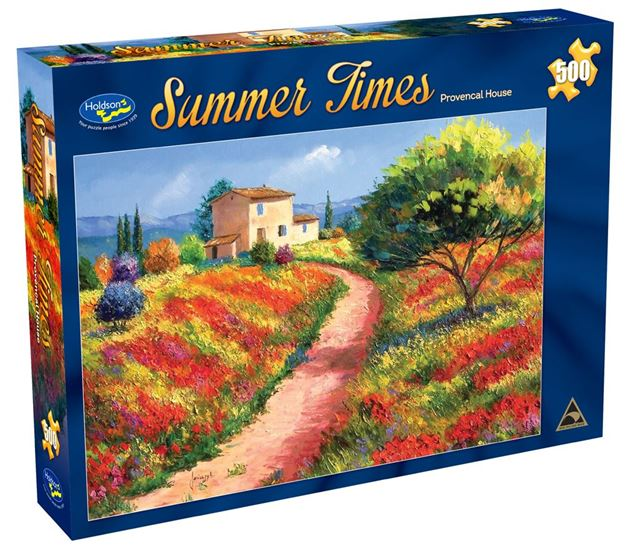 Picture of Holdson Puzzle - Summer Times 500pc (Provencal House)