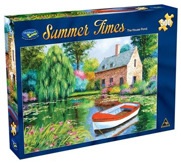 Picture of Holdson Puzzle - Summer Times 500pc (The House Pond)