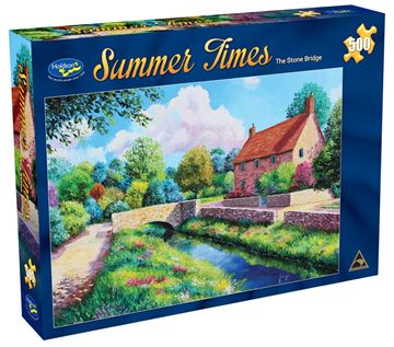 Picture of Holdson Puzzle - Summer Times 500pc (The Stone Bridge)