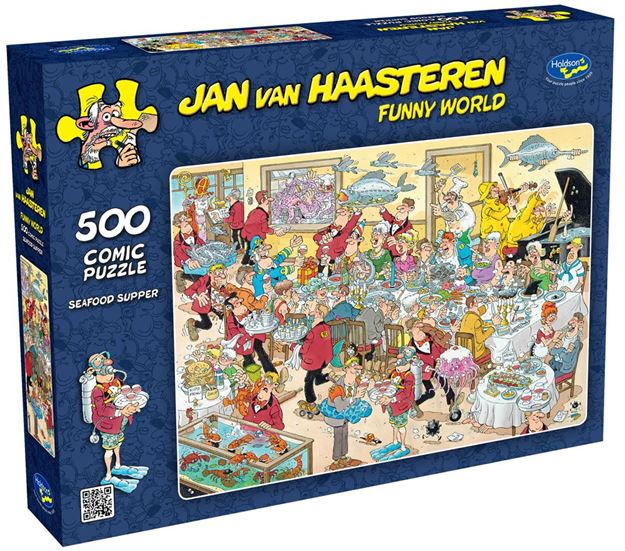 Picture of Holdson Puzzle - Van Haasteren 500pc (Seafood Supper)