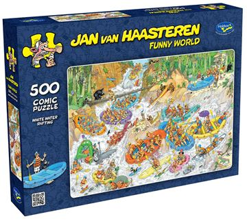 Picture of Holdson Puzzle - Van Haasteren 500pc (White Water Rafting)
