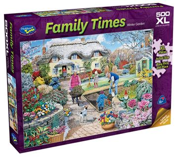 Picture of Holdson Puzzle - Family Times 500pc XL (Winter Garden)