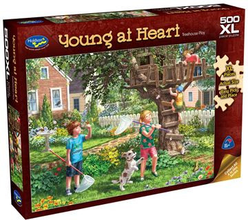 Picture of Holdson Puzzle - Young At Heart 500pc XL (Treehouse Play)