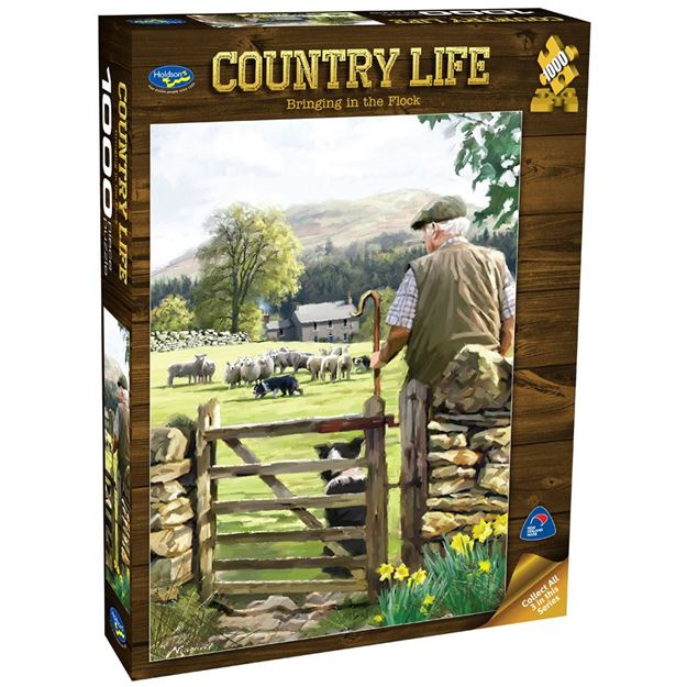 Picture of Holdson Puzzle - Country Life 1000pc (Bringing In The Flock)