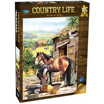 Picture of Holdson Puzzle - Country Life 1000pc (Farrier At Work)