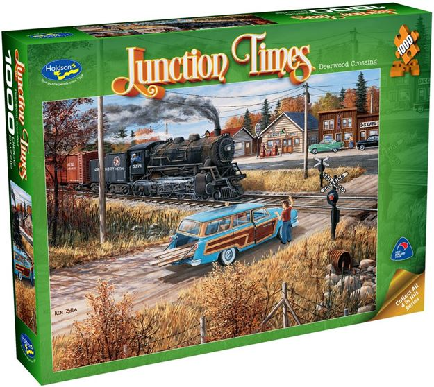 Picture of Holdson Puzzle - Junction Times 1000pc (Deerwood Crossing)
