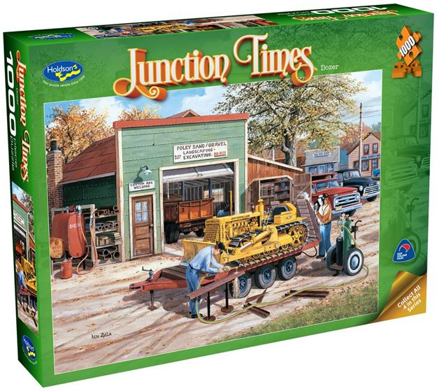 Picture of Holdson Puzzle - Junction Times 1000pc (Dozer)