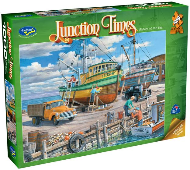 Picture of Holdson Puzzle - Junction Times 1000pc (Sisters Of The Sea)