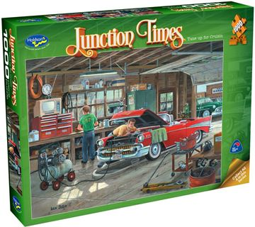 Picture of Holdson Puzzle - Junction Times 1000pc (Tune Up For Cruisin)