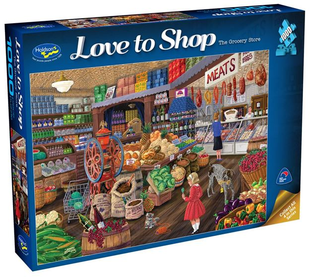 Picture of Holdson Puzzle - Love To Shop 1000pc (The Grocery Store)