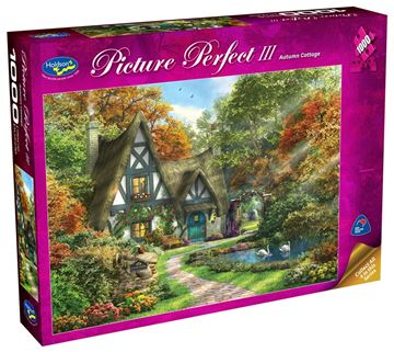 Picture of Holdson Puzzle - Picture Perfect 3 1000pc (Autumn Cottage)