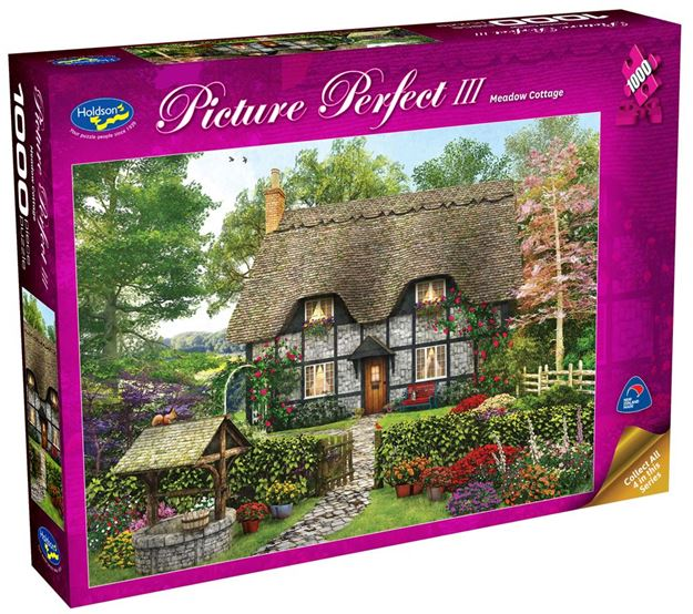 Picture of Holdson Puzzle - Picture Perfect 3 1000pc (Meadow Cottage)