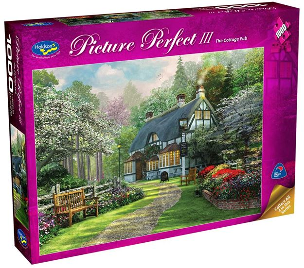Picture of Holdson Puzzle - Picture Perfect 3 1000pc (The Cottage Pub)