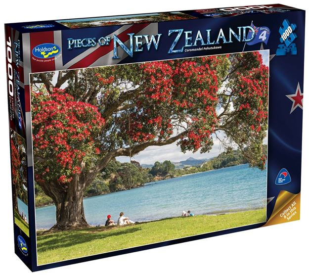 Picture of Holdson Puzzle - Pieces of New Zealand 4 1000pc (Coromandel Pohutukawa)