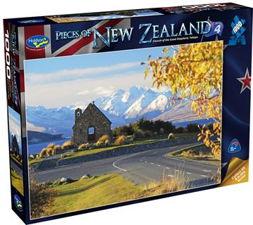 Picture of Holdson Puzzle - Pieces of New Zealand 4 1000pc (Church Of Good Shepherd Tekapo)