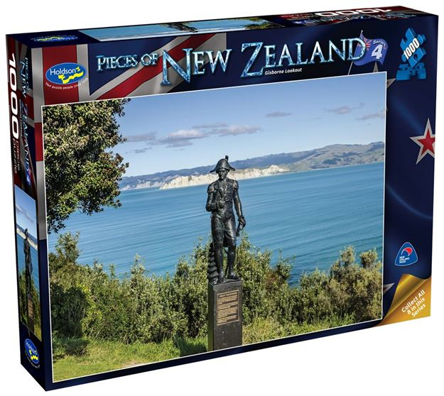 Picture of Holdson Puzzle - Pieces of New Zealand 4 1000pc (Gisborne Lookout)