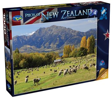Picture of Holdson Puzzle - Pieces of New Zealand 4 1000pc (Farmland Sheep)